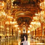 inside the Opera Garnier