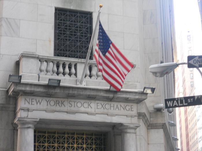 New York - NY Stock Exchange on Wall St