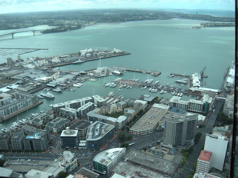 View from top of sky tower
