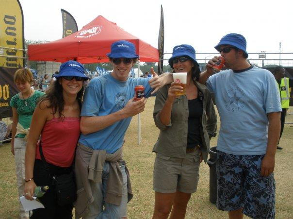 Me, Wouter, Marleen & Jereon in the Aardklop Festival