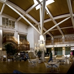 The main lobby of Maishima Lodge (panorama shot)