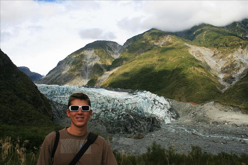 The Fox Glacier.