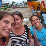 mit Anne und Pamela