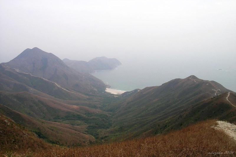 Tung Wan Shan and Cheung Tsui東灣山及俗稱「長咀」之大浪咀