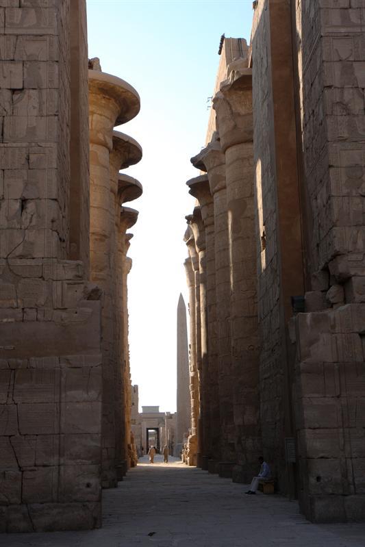 Zuilen in Karnak