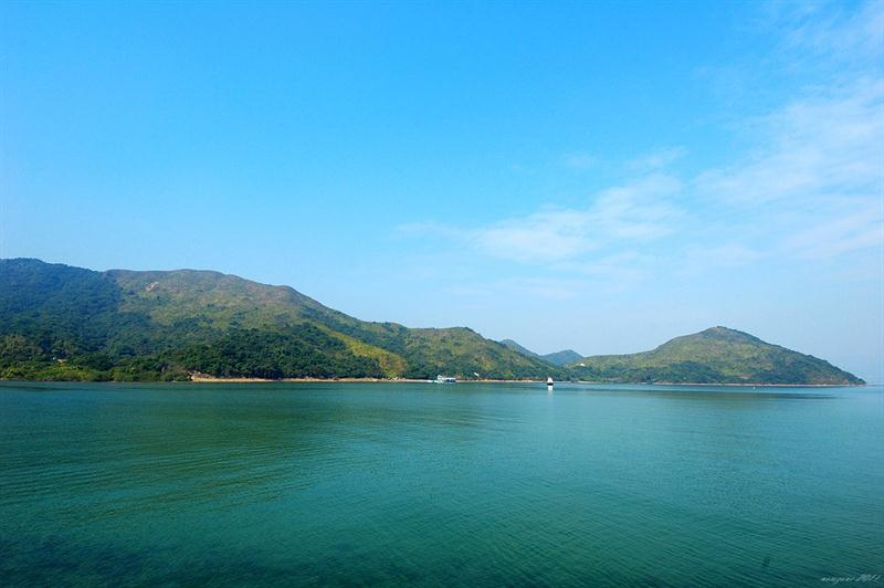 印洲塘海岸公園第二部份位於荔枝窩對開水域,其界線由涌灣咀連接九蘆頭。