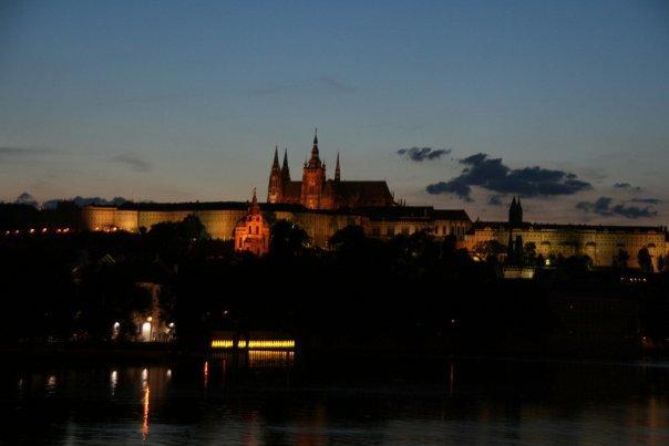 Prague Castle @ dusk (10pm).