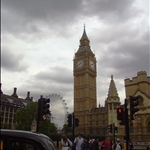 Big Ben with London Eye.JPG