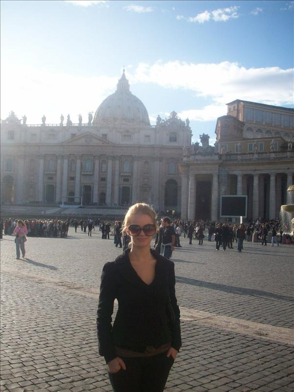 Me in the vatican city!
