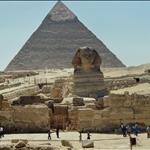 Giza pyramids & sphinx