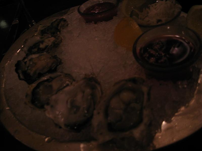 Yum oysters