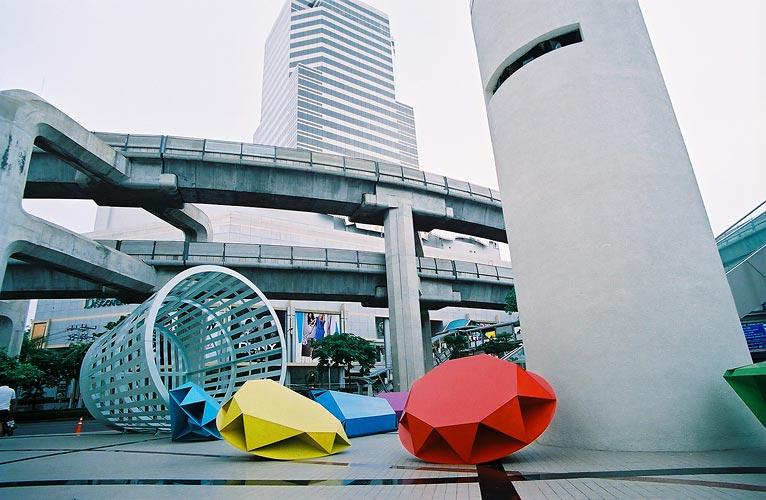 at front Bangkok Art and Culture Centre
