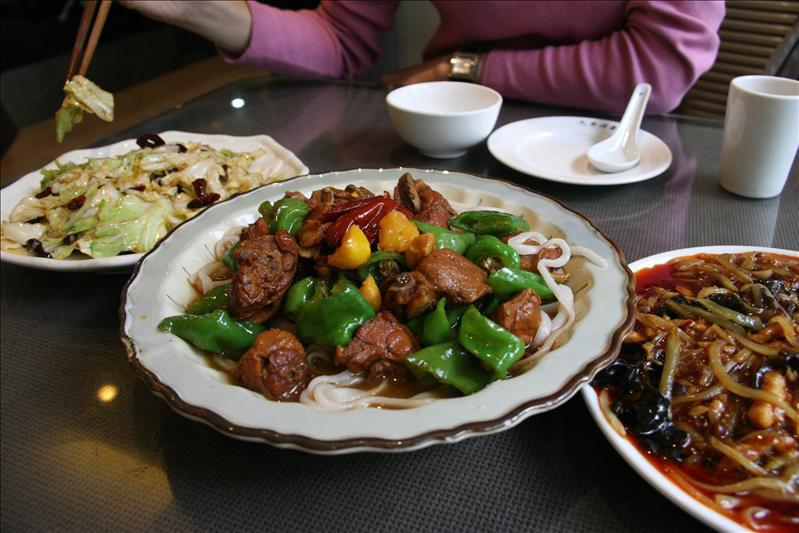 大盤雞,沒新疆的好吃