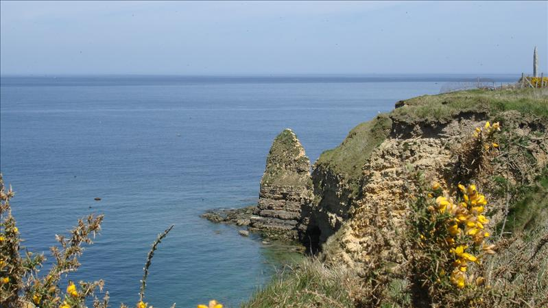 Pointe du Hoc - Where the rangers came up