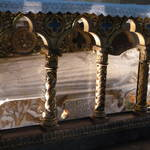 Sarcophagus of St. Catherine of Sienna.