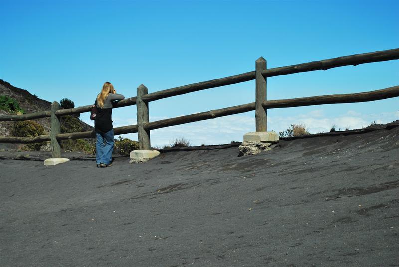 Crater Volcano Irazu