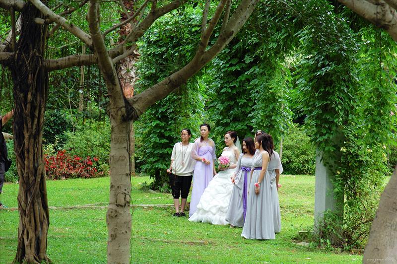 抵達終點大埔海濱公園 Tai Po Waterfront Park