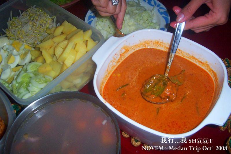 干阿姨弄的印尼小吃