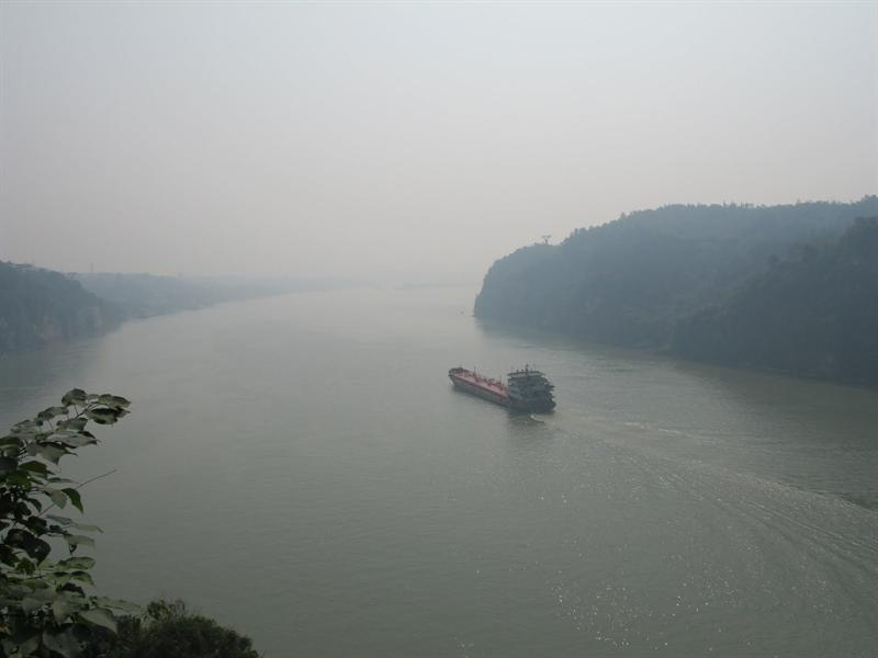 "Starting point from here to "" Three Gorges""."
