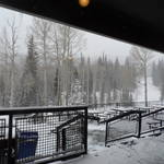 The view from the Mid-Mountain Lodge