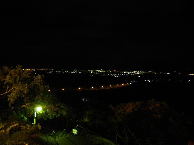 關山上看夜景