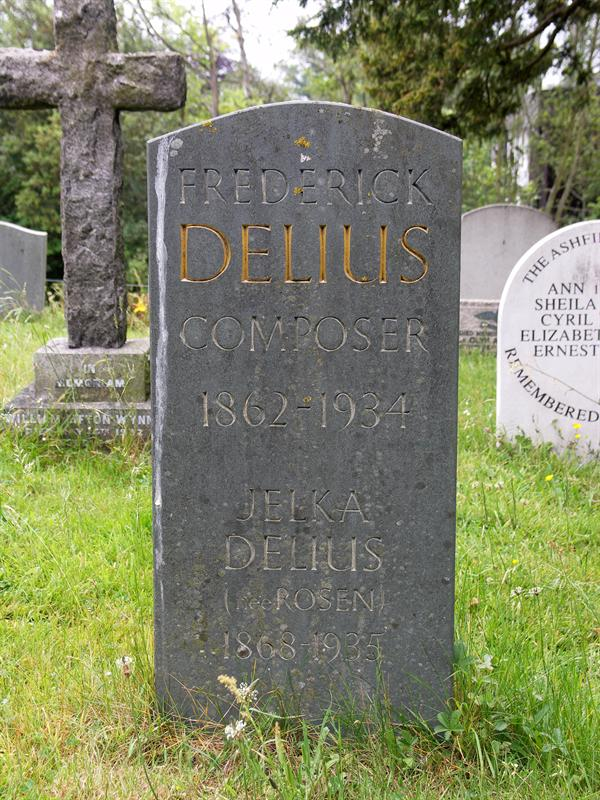 Mr and Mrs Delius