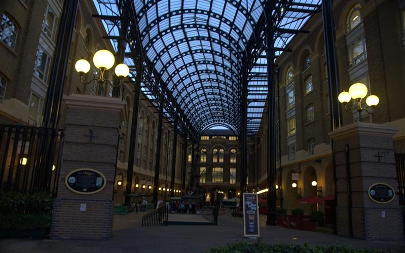 Hay's Galleria, South bank, Thames, London, United Kingdom