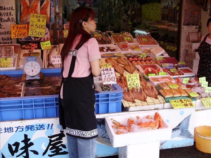 小樽三角市場1