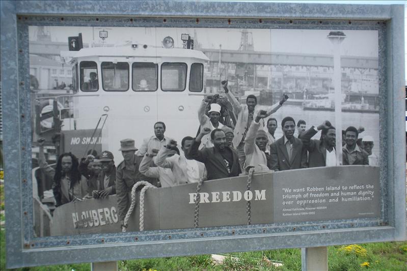 Les derniers hommes à quitter Robben Island