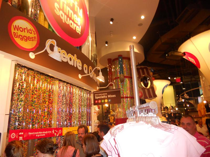 New York - M&M World, Times Square