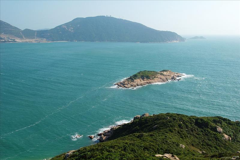 羅洲及鶴咀山 Lo Chau and D'aguilar Peak (Hok Tsui Shan)
