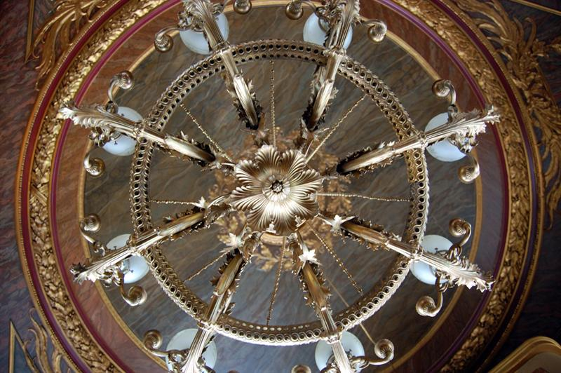 Cafe Savoy - detail of ceiling