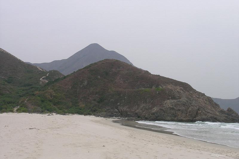 Tung Wan Shan, view from Tai Long Wan 大灣望東灣山