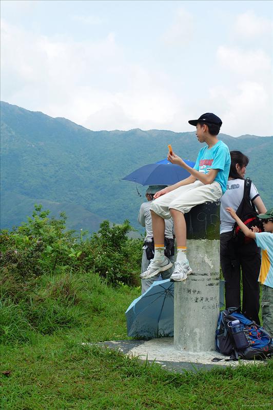 社山山頂195米