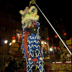 Lion Dance in Kobe China Town