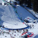 Freestyle arena at Deer Valley