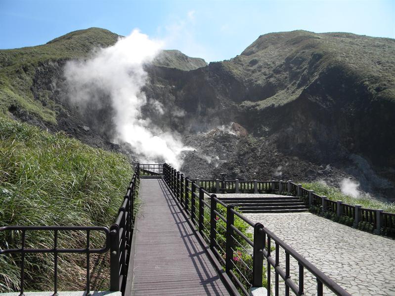 小油坑火山口