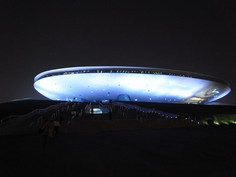 世博文化中心(超像飛碟的)