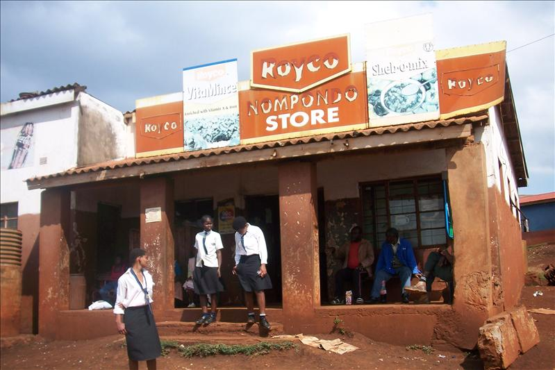 The only store / le seul magasin