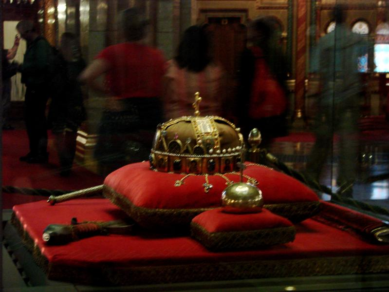 Hungarian royal crown