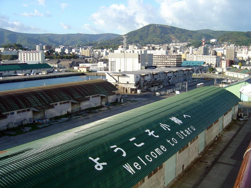 OTARU (小 樽),in HOKKAIDO island ( 北海道島),Japan----10-5-09.