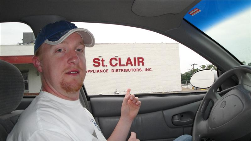 A friend of ours is named St. Clair, so this was funny to us.