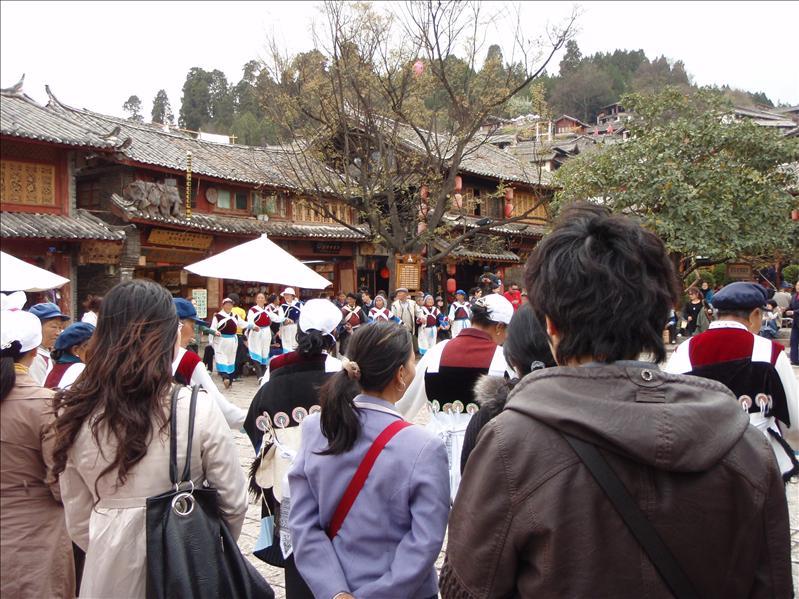 "Lijiang ""old town"" Naxi Dancers"