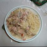 奶油鮭魚義大利麵