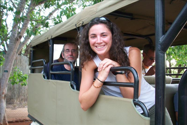 In the Safari Car