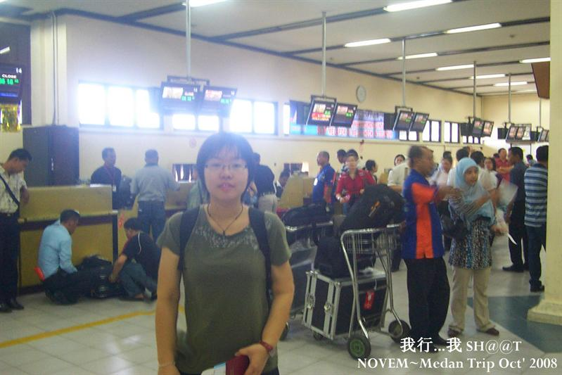 The last day i at Medan Airport