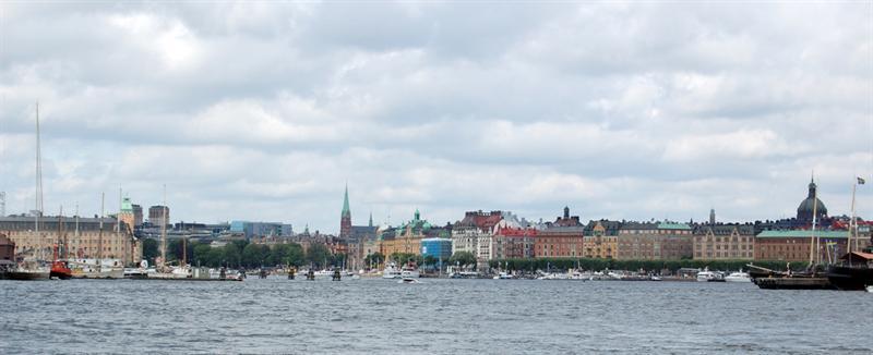 Leaving Djurgarden: Stockholm