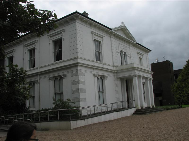 The White House is where the school Pres lives and is connected to the main building on campus