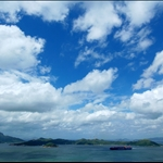 20090711 East Lamma Channel in Typhoon Signal No. 1 一 號風球下的東博寮海峽