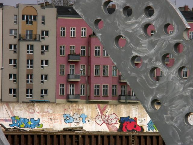 Lots of graffiti in Berlin
